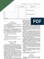 Pastelaria - Legislacao Portuguesa - 2009/02 - DL nº 41 - QUALI.PT