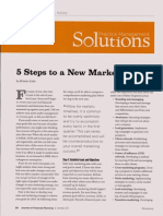 5 Steps to a New Marketing Plan