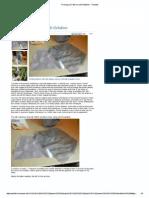 Firming Up Fabrics With Gelatine - Threads
