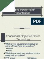 Effective Pp t