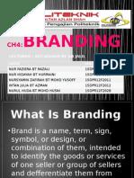 Branding for advertising