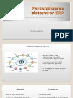 Personalizarea Sistemelor ERP