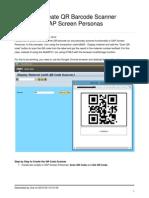 Create Qr Barcode Scanner