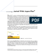 Getting Started With Aspen Plus