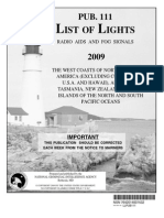 Pub. 111 List of Lights West Coasts of North & South America, Australia and Tasmania 2009.pdf