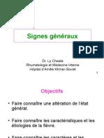 Les Signes Généraux