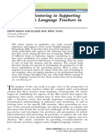 TESOL Quarterly Volume 46 Issue 3 2012 [Doi 10.1002_tesq.38] Steve Mann; Elaine Hau Hing Tang -- The Role of Mentoring in Supporting Novice English Language Teachers in Hong Kong