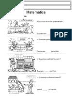 Matemática problemas 2º ano