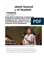 Bangladesh Soured Legacy of Student Politics