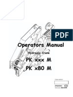 Hydraulic Crane PK Xxx M , PK x80 M Cpdb0001-GB
