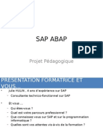 1 - Le Metier Developpeur SAP