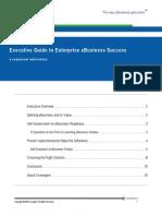 Executive Guide to Enterprise EBusiness Success