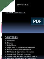 Operational Reseach Pp t