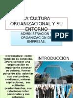 La Cultura Organizacional y Su Entorno