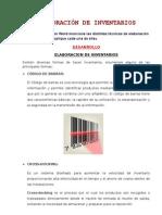 Elaboracion de Inventarios