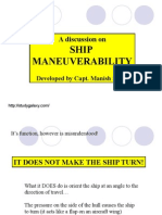 Ship Maneuverability