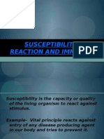 Susceptibility,Reaction and Immunity1