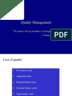 Quality Management Fall05