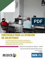 Protocolo de Atencion de Solicitudes - SISFOH
