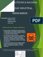Riesgos Químicos - Seguridad Industrial - Grupo 1