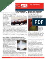 July August 2015 ArtNews