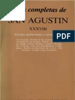 San Agustin de Hipona Escritos Antiarrianos y Otros Herejes
