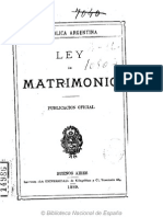 Ley de Matrimonio Civil