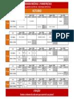 Calendário de Provas 2º Bimestre Engenharia Mecânica - NOTURNO(1)