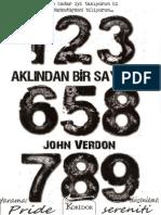 Aklindan Bir Sayi Tut - John Verdon