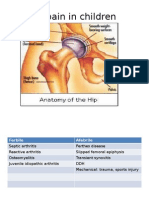 Hip Pain in Children