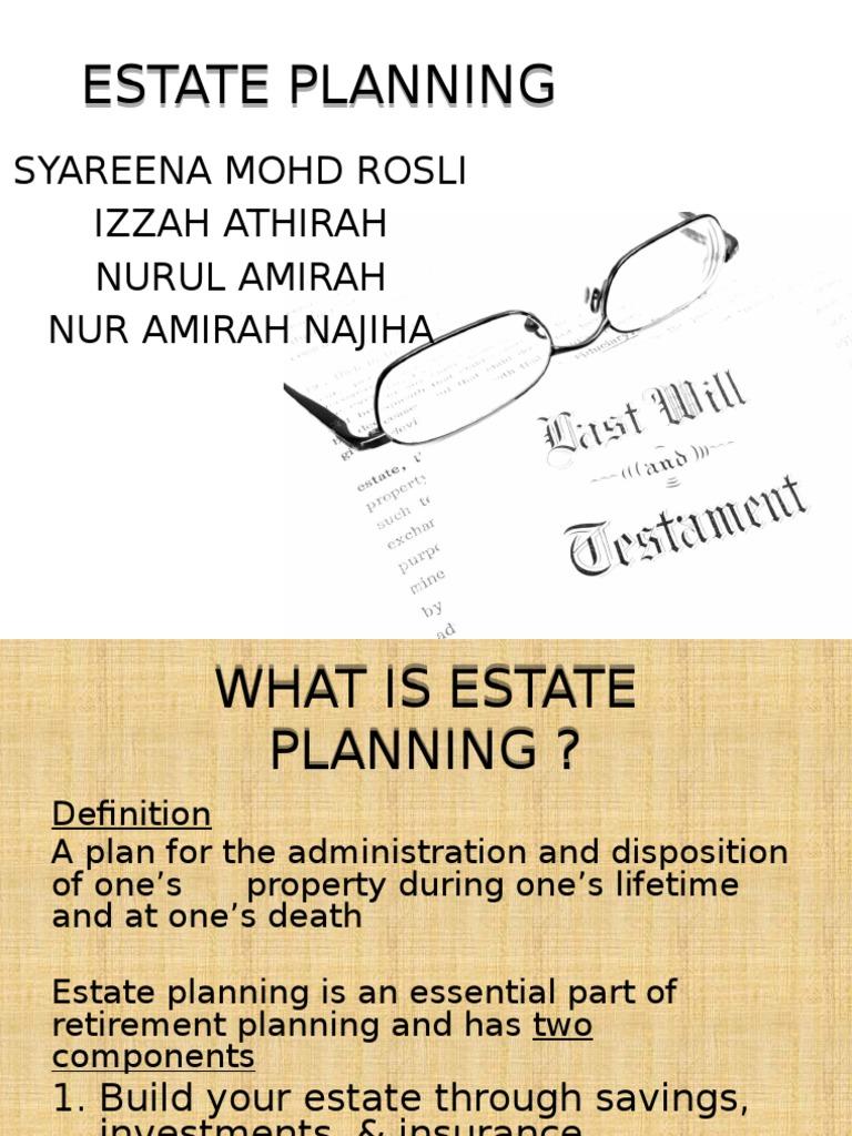 estate planning utk present (1) | will and testament | trust law