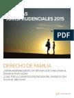 Máximas Jurisprudenciales – Enero 2015 Derecho de Familia