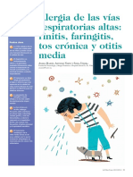 Alergias de Las Vías Respiratorias Altas - Rinitis, Faringitis, Tos Cronica y Otitis Media