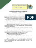 Standarde Minime Licenta Varianta Final