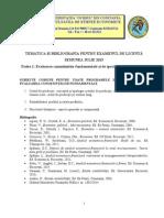 SUBIECTE Examen Licenta 2015