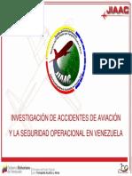 016 JIAAC Investigacion de Accidentes de Aviación y La Seguridad Operacional en Venezuela
