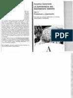 Castoriadis - La experiencia del Movimiento Obrero. Vol 2, Proletariado y Organización.