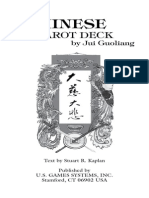Chinese Tarot Deck Booklet