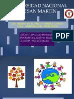 Los Valores en El Peru y America Latina