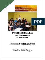 Teoria y Problemas de Matrices y Determinantes Ccesa007