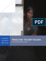 "Prosecuting ""Evil Way"" Religion"