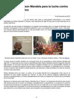 Lucha de Mandela Por El Cambio Climantico