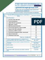 ISO 14001 Training Presentation Kit