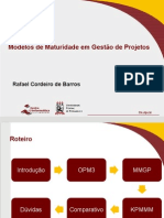 Modelos de Maturidade Em Gestao de Projetos