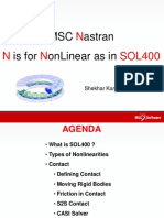 SimAcademy-Nastran N is for Nonlinear