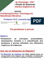 Act 4. Os Parafusos e Porcas Nos Elementos Organicos de Maquinas, EST