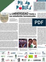 La Universidad Frente a Sus Estudiantes Homosexuales