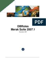 Db Roles