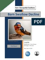 barn swallow decline final report212222