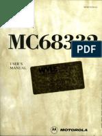 MICROCONTROLADOR 68332_Users_Manual